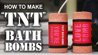 How To Make A ″TNT″ BATH BOMB