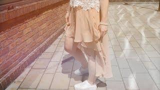 OOTD #3 | Spódniczka + trampki ♥
