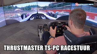Thrustmaster TS-PC Racing stuur review - Hardware.Info TV (4K UHD)