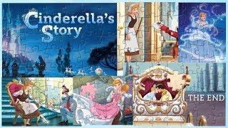 Disney Princess Cinderella Story Jigsaw Puzzle for kids