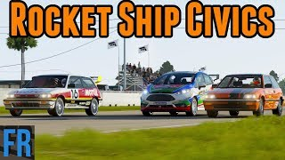 Rocket Ship Civics - FailRace Vs The Community
