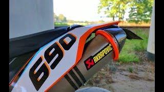 Nowy motocykl - KTM SMC 690   Dajczu MotoVlog