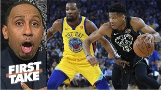 Stephen A. blasts Max for his take on Giannis surpassing LeBron with a Bucks finals run | First Take