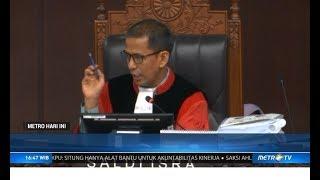 Dua Saksi 'Ilegal' Tim Prabowo Dicoret Hakim di Sidang ke-III Sengkea Pilpres 2019