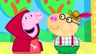 Peppa Pig Português | Se Vestindo | Compilação