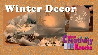 All-Star Designers Holiday Series - Winter Decor