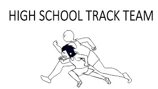High School Track Team