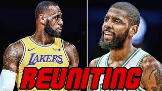 New Lakers Trade Rumors! Possible LeBron James & Kyrie Irving Reunion in LA?!