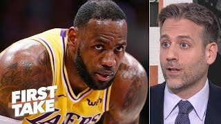 Walt Frazier calling out LeBron proves the Lakers have chemistry issues - Max Kellerman | First Take