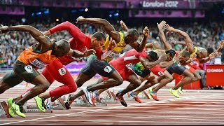 TOP 10 | 100m Track and Field Sprints Until 2015 | HD
