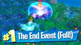 Fortnite THE END Event - Full Gameplay Reaction