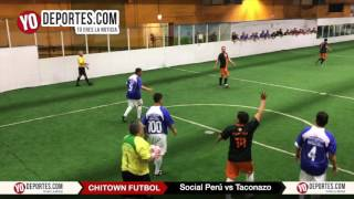 Social Peru vs. Taconazo Final de Veteranos Chitown Futbol