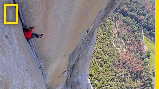 See First of Most Dangerous Rope-Free Climb Ever (Alex Honnold) | National Geographic