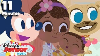 Nursery Rhymes Compilation! | 🎼 Disney Junior Music Nursery Rhymes | Disney Junior