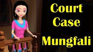 Court Case || Mungfali || Happy Sheru || Funny Cartoon Animation || MH One