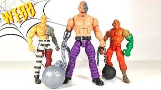Marvel Legends ABSORBING MAN BAF Action Figure Review & Comparison