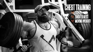 Chest Training   FST-7, Shorter Rest, & Moving WEIGHT!