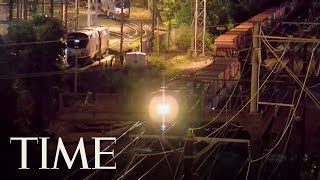 Two Rail Workers Were Killed By An Amtrak Train Approaching Union Station In D.C. | TIME