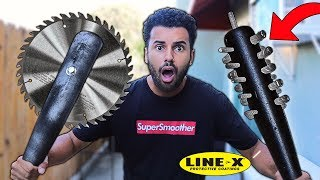 We Built DIY Zombie Apocalypse SURVIVAL WEAPONS!! *EXTREME DIY CHALLENGE*
