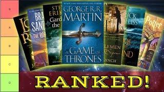 Ranking Every Fantasy Series