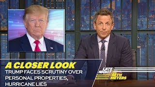 Trump Faces Scrutiny Over Personal Properties, Hurricane Lies: A Closer Look
