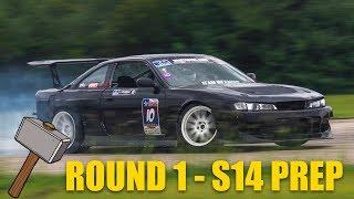 Lone Star Drift Round 1 - prep the V8 S14