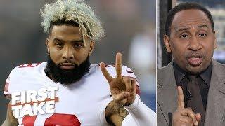 Odell Beckham Jr. trade proves Giants should fire Pat Shurmur, Gettleman - Stephen A. | First Take