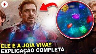 TONY STARK É A JOIA DA ALMA VIVA!! NÃO É O REATOR ARC – EXPLICAÇÃO COMPLETA