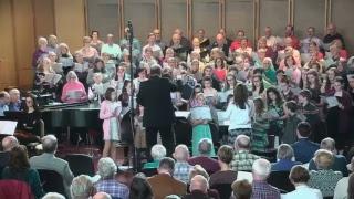 April 22 @ 11 am - Worship Service - Spring Choral Festival