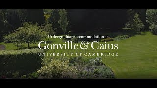 Undergraduate accommodation at Gonville & Caius