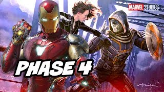 Black Widow Teaser - Why Marvel Revealed Iron Man Marvel Phase 4