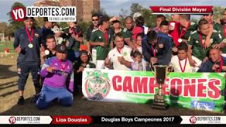 Douglas Boys Campeones 2017 Liga Douglas