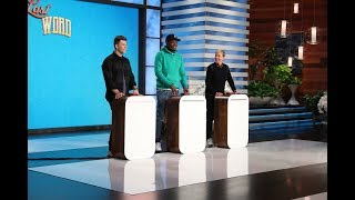 Colin Jost, Michael Che and Ellen Play 'Last Word'