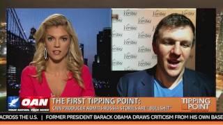 "James O'Keefe & Liz Wheeler discuss American Pravda: CNN Producer Says Russia Narrative ""bullsh*t″"