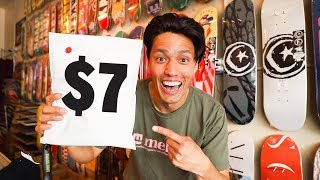 BUYING SKATE PRODUCTS NO ONE WANTS!