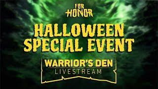 For Honor: Warrior's Den Livestream October 17 2019 | Ubisoft