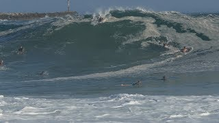 The Wedge, CA, Surf, 7/24/2018 - (4K@30) - Part 4