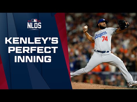 Kenley Jansen comes through with a perfect 8th inning to keep the game tied!