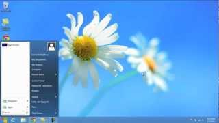 How To Get The Windows 8 Start Menu