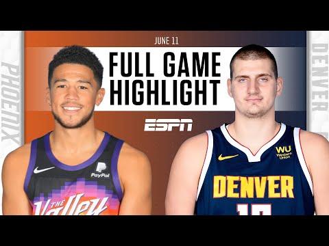 Phoenix Suns at Denver Nuggets | Full Game Highlights