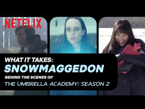 Snowmageddon | What It Takes: The Umbrella Academy Season 2 | Netflix