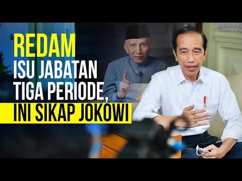 Jabatan Presiden Tiga Periode, Ini Komentar Jokowi
