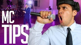 5 Tips to Help You Become a Better MC (Event Host)   How to be an MC