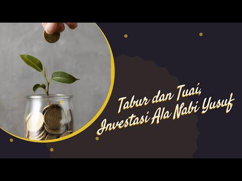 Tabur dan Tuai, Investasi Ala Nabi Yusuf