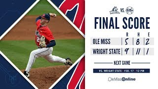 HIGHLIGHTS | Ole Miss vs. Wright State 5 - 9 (02/16/19)