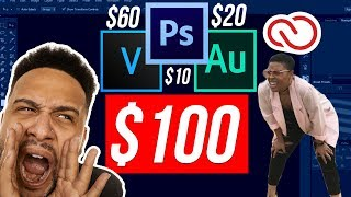 How To Get Adobe Photoshop CC, Adobe Audition CC, and Vegas Pro 15 For Only $100