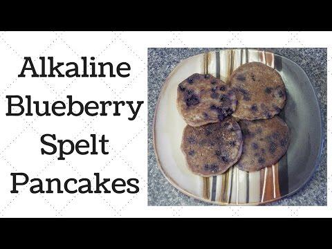 Blueberry Spelt Pancakes Dr.Sebi Alkaline Electric Recipe