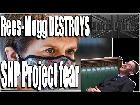 SNP brand UK a third world country without the EU Rees-mogg destroys him