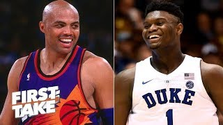 Is Charles Barkley the best Zion Williamson comparison? | First Take
