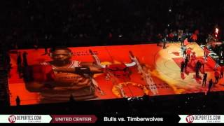 Chicago Bulls vs. Minnesota Timberwolves Intro Tuesday December 13